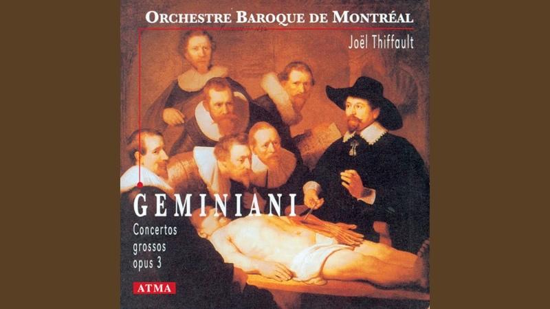Concerto Grosso in G Major after A Corelli's Trio Sonata Op 1 No 9 I Allegro