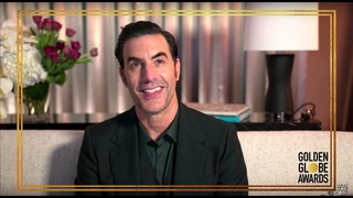 SACHA BARON COHEN - Best Performance by an Actor in a Motion Picture, Musical or Comedy