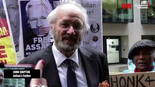 WATCH: John Shipton updates us on #AssangeCase day 12