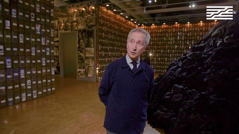 Visite exclusive de l'exposition Boltanski Centre Pompidou