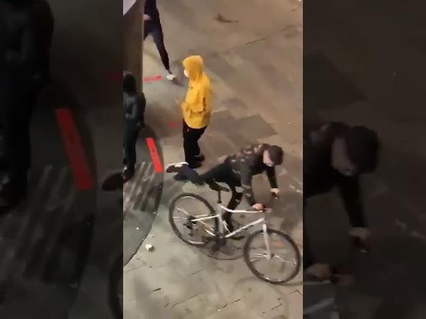 Грабежи в Барселоне