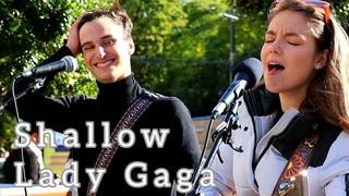 HIS REACTION WHEN I SING   Shallow - Lady Gaga   Allie Sherlock & Cuan Durkin Cover