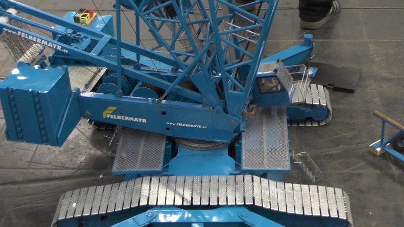 RC Kran Liebherr LR1750 Giant RC Crane 600kg und 8 5 Meter Intermodellbau 2015