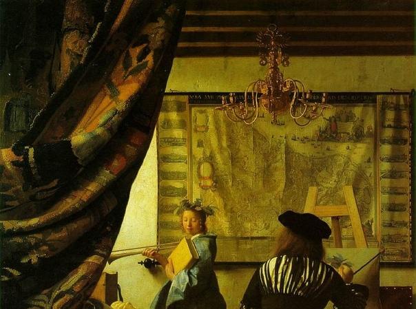 «Мастерская художника», Ян Вермеер