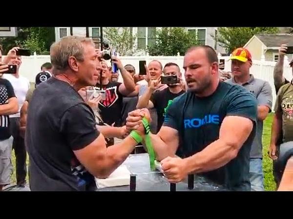 RON BATH vs TRAVIS BAGENT ARM WRESTLING USA 2020