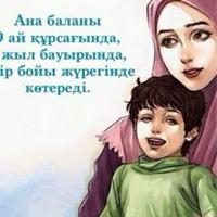 Фотография профиля Кулаш Нуркановой ВКонтакте