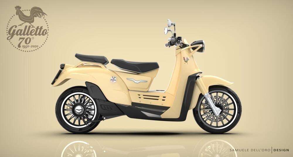 Концепт Moto Guzzi Galletto Concept