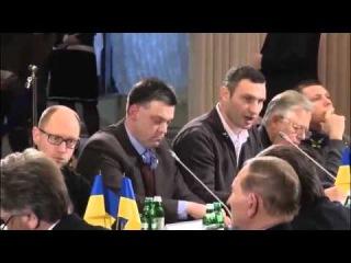 ЕКСКЛЮЗИВ! Виступ Віталія Кличко на круглому столі