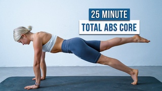 Day 6 - 25 MIN ABS OF STEEL WORKOUT - Core Strength, Stability, Mobility, No Equipment, No Repeat