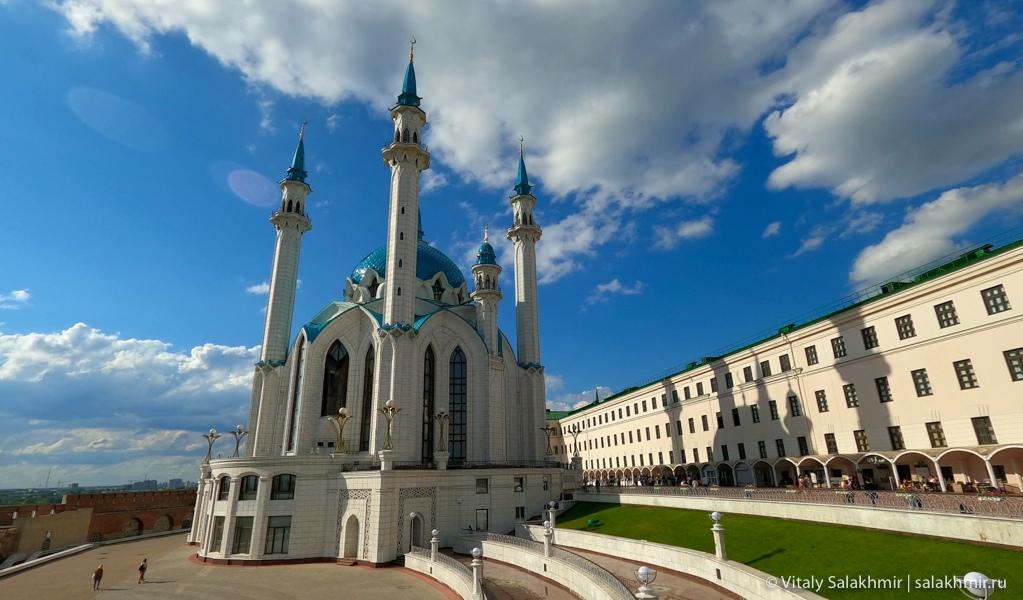 Мечеть Кул-Шариф в казанском кремле, обзор 2020