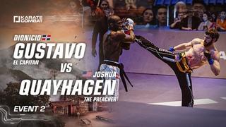 Karate Combat S03E02 Dionicio Gustavo vs Joshua Quayhagen