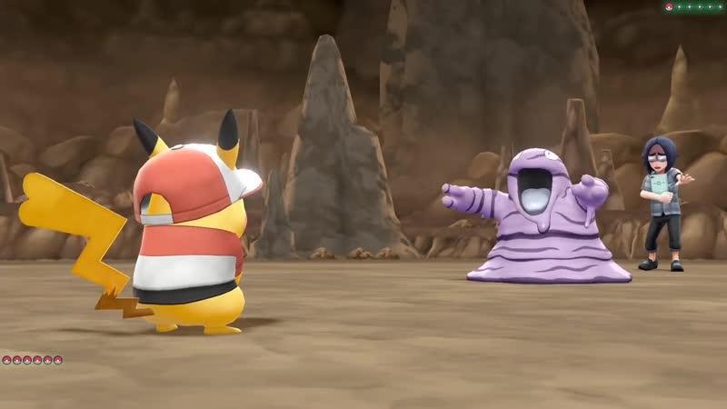 [AssiMaslow] ЛУННАЯ ПЕЩЕРА - Pokemon Lets Go, Pikachu 4 - Прохождение (ПОКЕМОНЫ НА НИНТЕНДО СВИЧ)