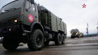 Сводный отряд МО РФ форсирует Енисей