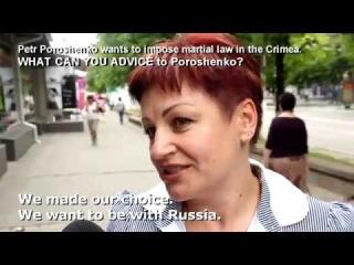 Крым, Россия Что жители Крыма думают об идее Порошенко 'ввести военное положение в Крыму' 1