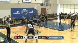 2013 NBA Summer League Brooklyn Nets VS Philadelphia 76ers