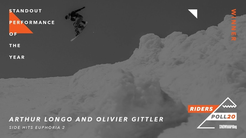 Arthur Longo and Olivier Gittler Standout Performance of the Year TransWorld Riders' Poll 20