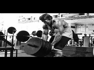 Treino de Costas do Arnold Schwarzenegger