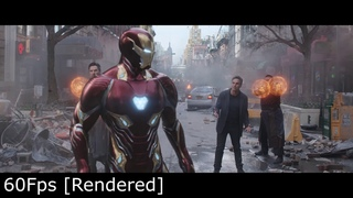 Ironman suit-up Infinity War [24fps vs 60fps] comparison