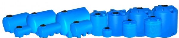 Горизонтальная емкость пластиковая для воды 10000 литров Москва