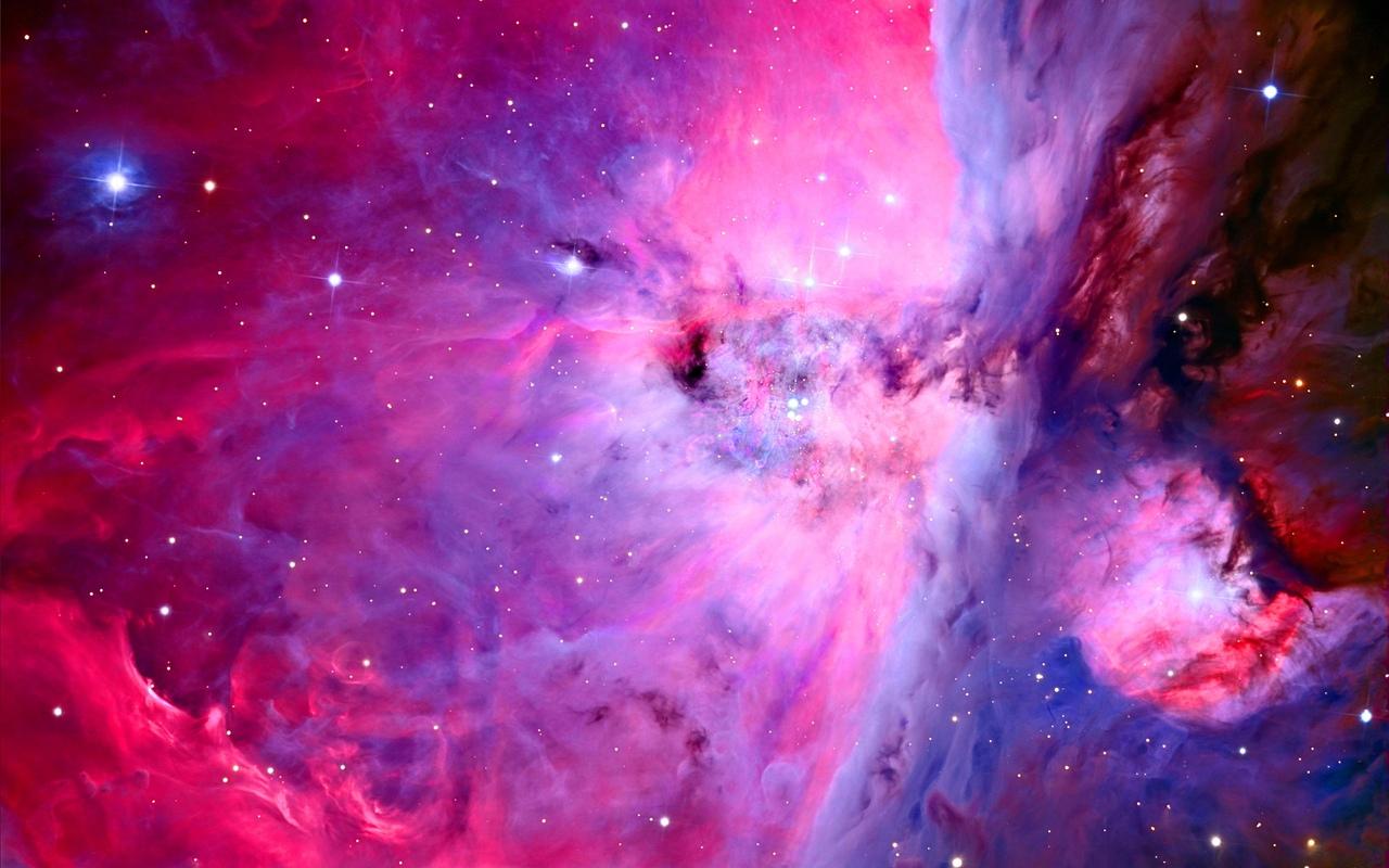 Вертикальные картинки космос розовый
