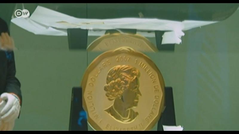 Roban moneda de oro de 100 kilos