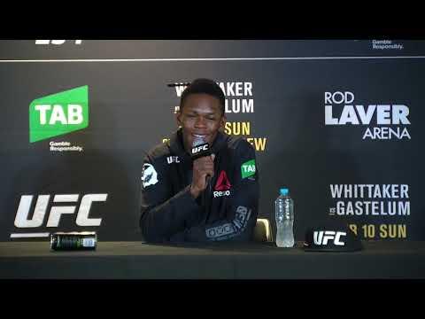 UFC234: Послематчевая пресс-конференция