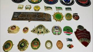 Моя коллекция по теме Ичкерия! Очень редкие значки, часы и кокарды времён Ичкерии!