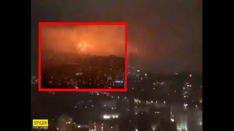 Мощный взрыв в Ялте погрузил курорт во тьму видео инцидента