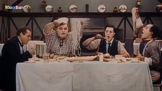 The Cook ( 1918 ) - HD BEST - Arbuckle / Buster Keaton Movies - Colorized Black & White Full Film
