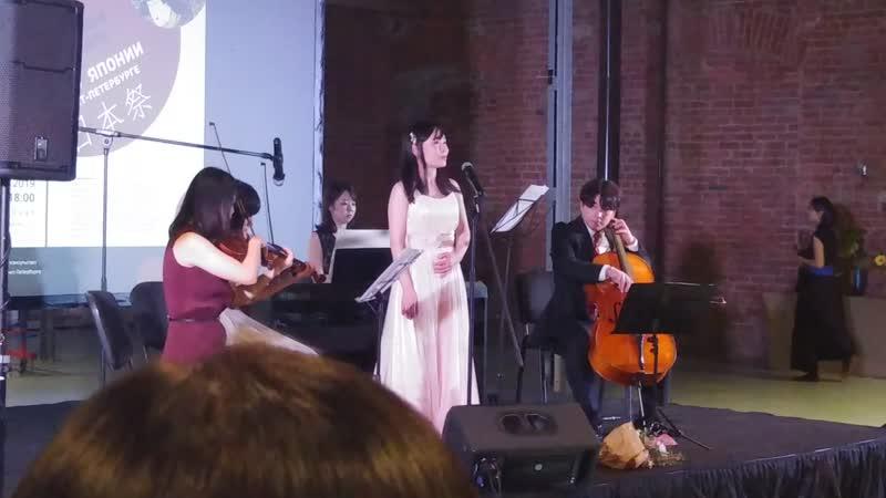 Оперная певица Маюко Окада