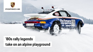 A Tale of Fire and Ice with Porsche Rally Legends