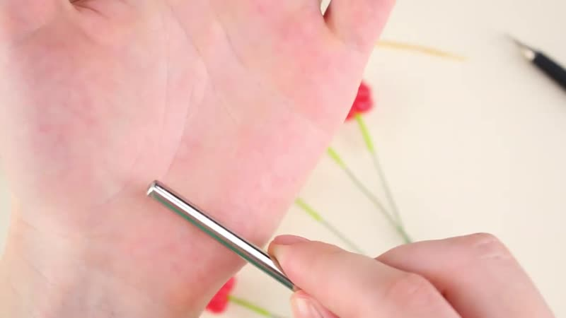 Лепим Малину брошь в смешанной технике холодный фарфор полимерная глина урок♥