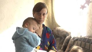 Помощь многодетной семье от жителя России