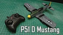 Mini RC P-51d Mustang build video