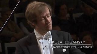Lugansky - Grieg Piano Concerto in A minor, Op. 16