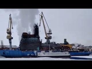 """⚡СРОЧНО: Мир на грани катастрофы. НАТОвским спецназом захвачен атомный ледокол """"Сибирь"""""""