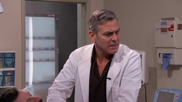"""E R """" Cast Reunion with George Clooney and Jimmy Kimmel"""
