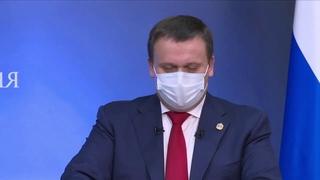 Ежегодная пресс-конференция губернатора Новгородской области Андрея Никитина  г.